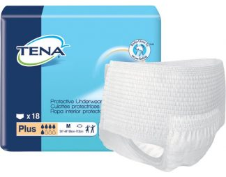 TENA Protective Underwear, Plus Absorbency